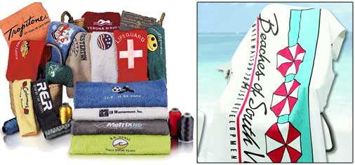 Click for Custom Embroidered or Printed Towels