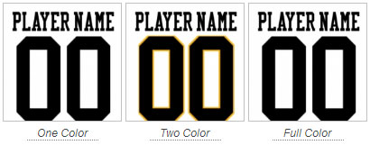 Custom Team Numbers