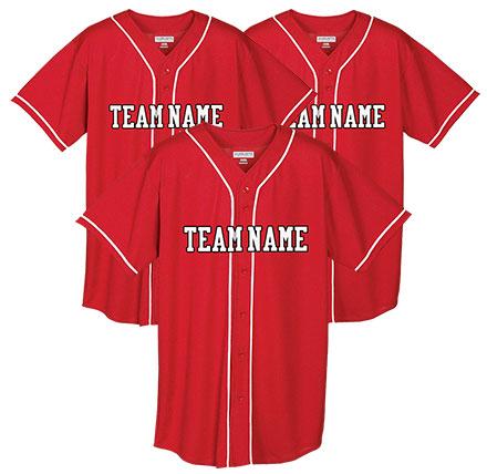 Custom Baseball Uniforms Jerseys