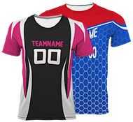Custom Volleyball Uniforms and Custom Volleyball Jerseys