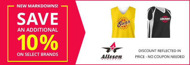 a6717597f45 Need a full uniform solution? Look no further than Alleson's selection of  game quality jerseys and shorts.
