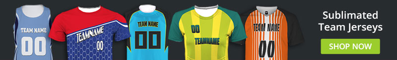 Customize Sublimated Team Jerseys and Fanwear
