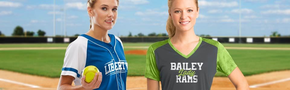 on sale 5c9d9 0450c Custom Womens Softball Jerseys & Uniforms | TeamSportswear