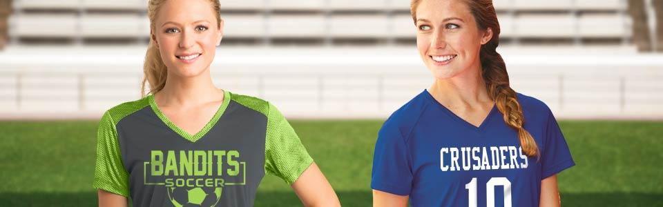 fe1c375b4a4 Custom Womens Soccer Uniforms   Womens Soccer Jerseys
