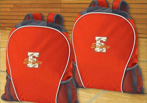 3ce2c76492a ... team colors to carry anything you need, like warmups, shooting shirts,  water bottles, sneakers - even extra balls! Select a bag now and start  designing!
