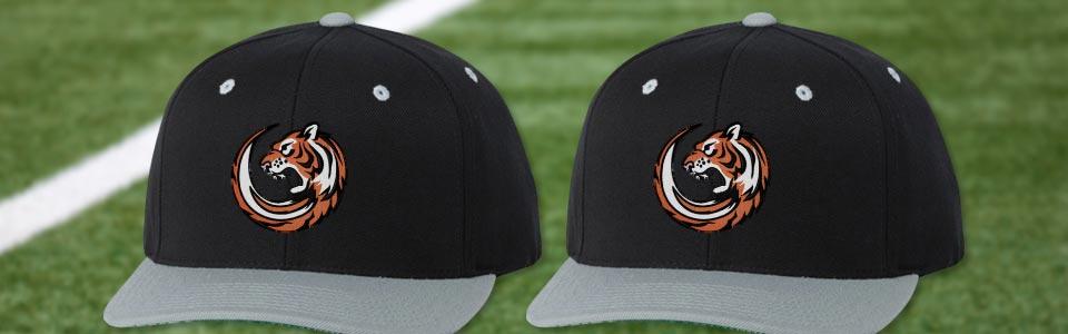 0fb91c843f897 Custom Football Team Hats   Caps