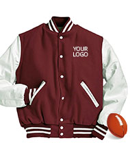 athletic jackets - design your own