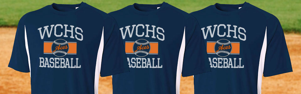 10ff55cc0 Custom Baseball Team T-Shirts | TeamSportswear