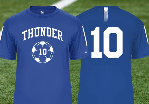 df3dc0b0d ... part of every team s gear. Customize soccer tees easily using our  online designer using your own design